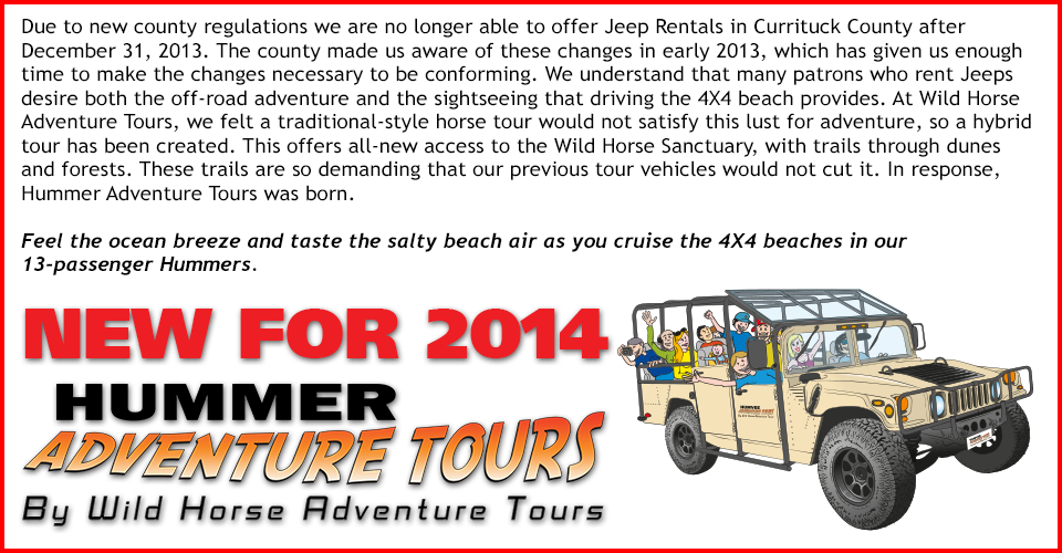 Hummer Adventure Tours Outer Banks