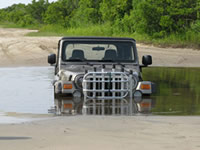 Jeep Stuck In The Outer Banks